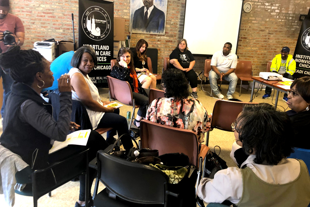 Chicago Peace Fellow Lisa Daniels shares her personal connection to the work of violence prevention.