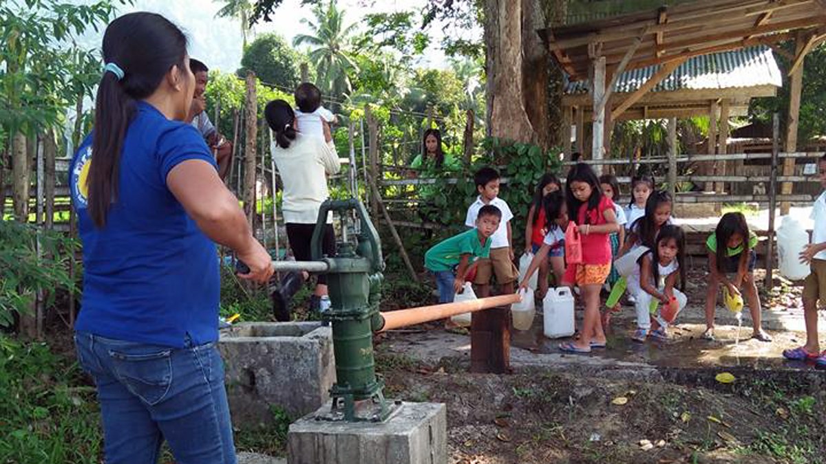 Akif Irfan's fundraising efforts have provided safe drinking water to over 1,000 students in Mindanao this year.